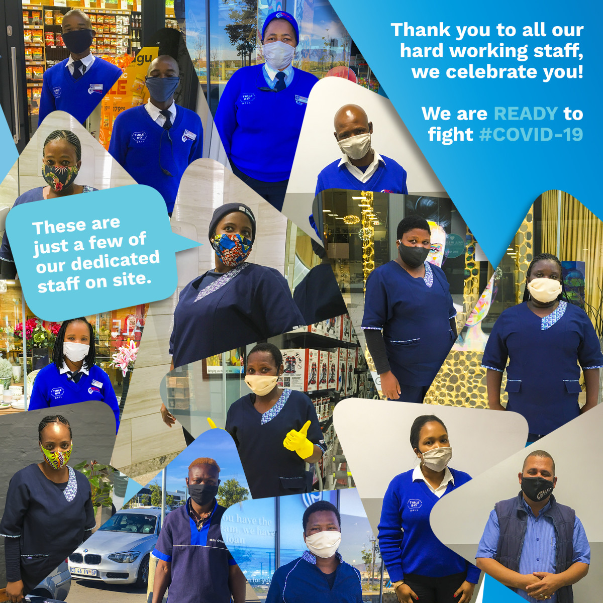 Thank you to all our hard working staff, we celebrate you!